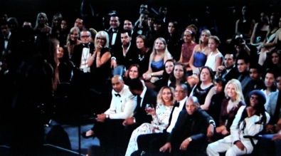 ... the Grammy audience realizes the Queen Bee has more brains than the entire US music industry.