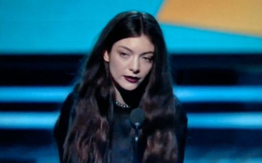 Royal Lecture: Ella Yelich-O'Connor A.K.A. Lorde educates  elites at the 56th Grammy Awards.