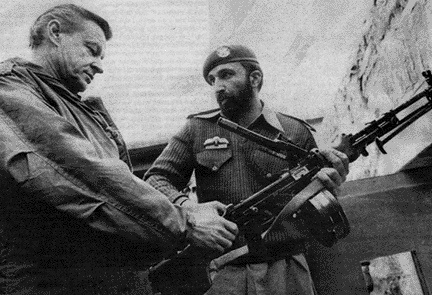 CHANGE YOU CAN BELIEVE IN: After arming and training the Mujahideen in modes of terrorism in 1979, giving foreign policy 'advice' in Pakistan in 1980 (see picture), in a covert strategy to antagonize the Russians to invade Afghanistan, Zbigniew Brzezinski later became a foreign policy advisor to President Barack Hussein Obama.