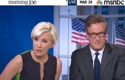 MEDIA MUPPETS: MSNBC newsroom anchors become the spectacle.
