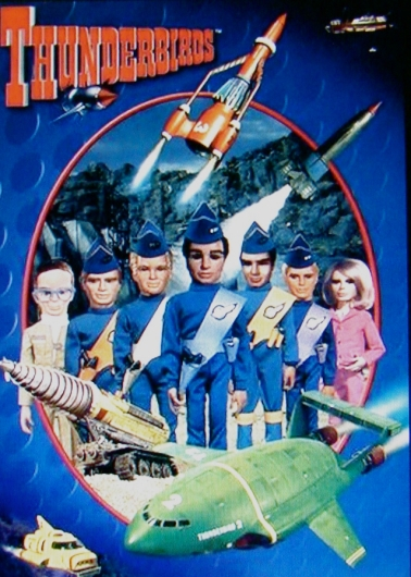Code Purple:  Cheesy colour-coded terror alerts like those seen on The Thunderbirds became commonplace on USA American TV news after 9/11.