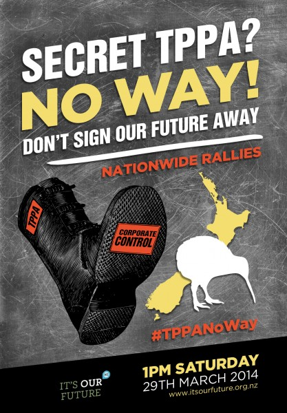 Stop the Corporate Boot: Snoopman News reports the Trans-Pacific Partnership Agreement (TPPA) is part of a broader global neo-colonial project.