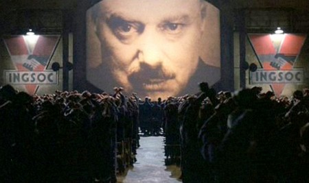 Big Brother the Propagandist: Novelist George Orwell warned of the dangers of propaganda, surveillance and terrorism in his dystopian world, Nineteen Eighty-four.