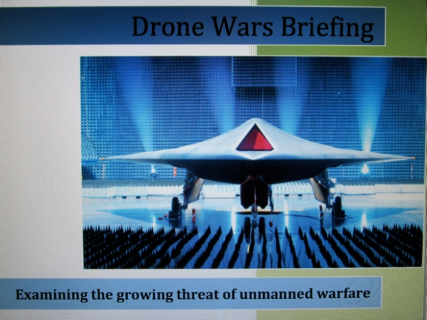 Automating Shock & War: While drone pilots dehumanize their 'targets' with words like 'bug splats', war-making world puppet leaders occasionally string people along with peace-talks rhetoric, like Casanovas playing the field.