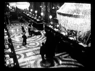 Not Just Fiction: Security camera footage of Gringotts Bank, City of London, released by the Ministry of Magic following an official information request.