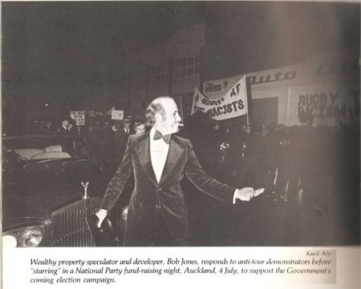 Hating Equality Since '81: Jones The Oligarch, shows his admiration for dissent and depth of compassion for 'blacks' and 'coloureds' abused by the Afrikaner Broederbond, during an anti-apartheid demonstration in 1981.