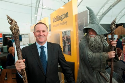 Grizzly Gandalf: Great Wizard Gandalf was furious when he found out the Dark Wizard John Key had become Middle Earth's political leader.