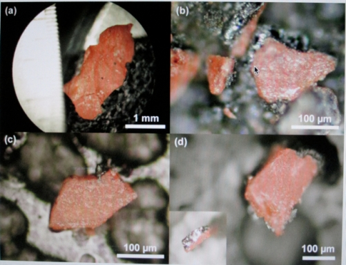Evidence of Controlled Demolition: Traces of unexploded nano thermite (red/grey particles) found in four samples of WTC dust.