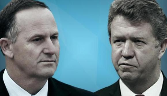 """Silly"" Cunliffe: John Key said he'd love see to his Labour Party counterpart say, ""sorry for being a man"" at rugby clubs."