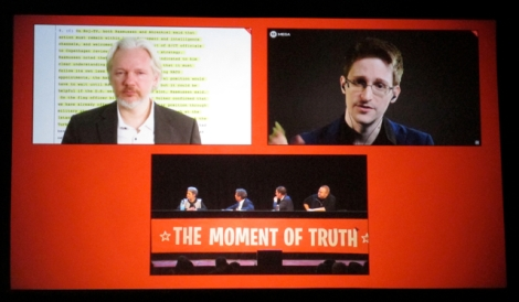Moment of Truth: Edward Snowden says New Zealanders are subject to mass surveillance.